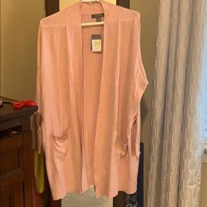 Primark - pink cardigan with pockets.